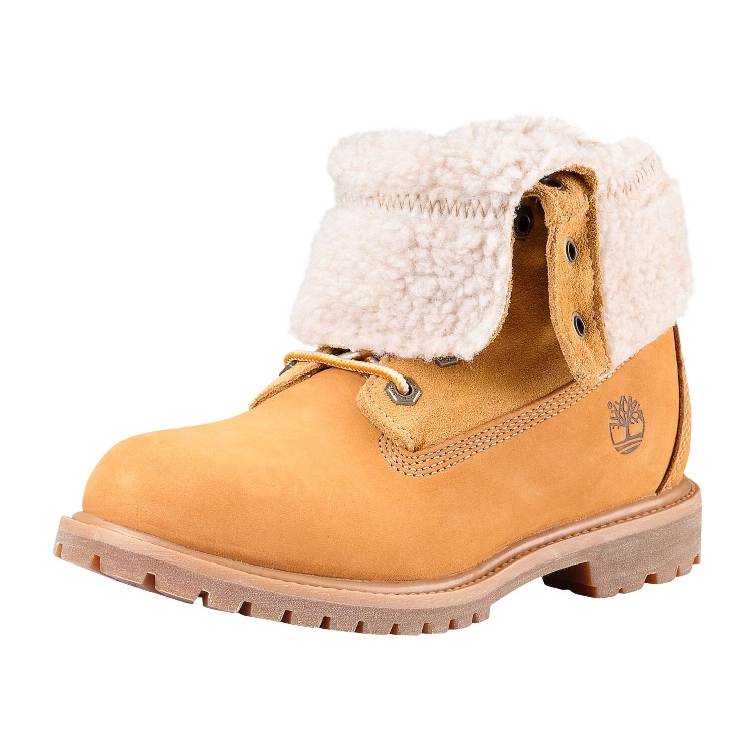 Women's Timberland Boot Authentics Teddy Fleece Fold-Down Wa