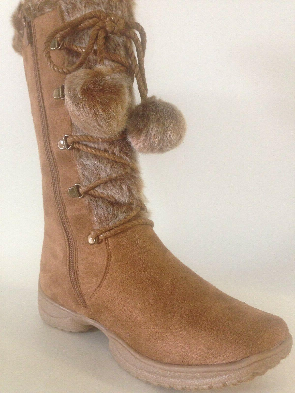 Forever WOMEN'S  Boot WEDGE FAUX FUR  comfort