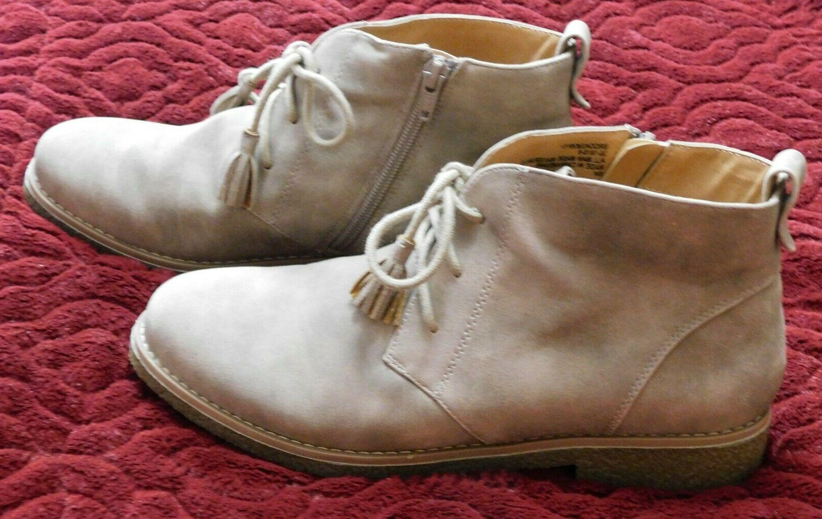 Comfortview Women's Ankle Size 8W Lace Up