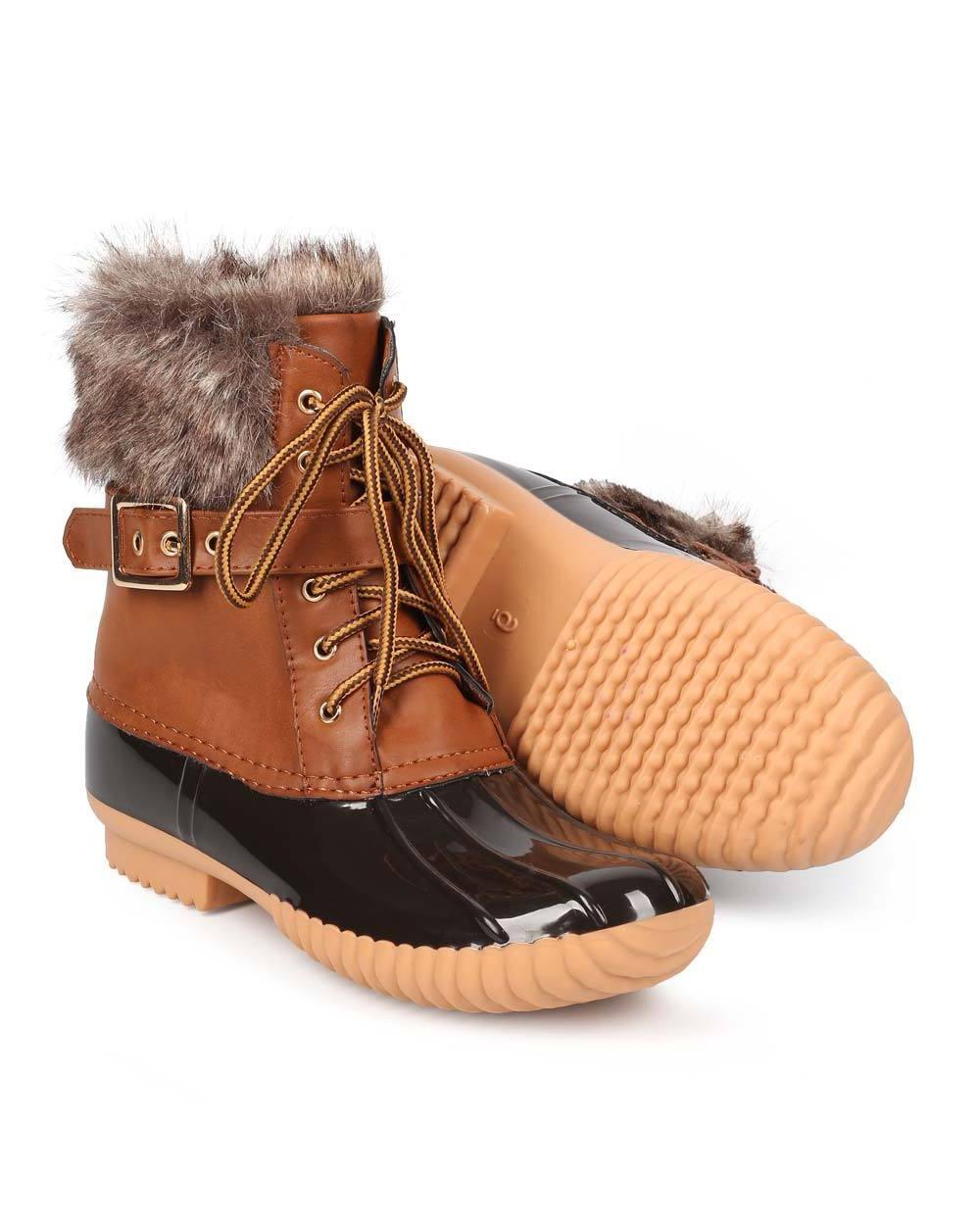 Women's Lace Side Boot Insulated
