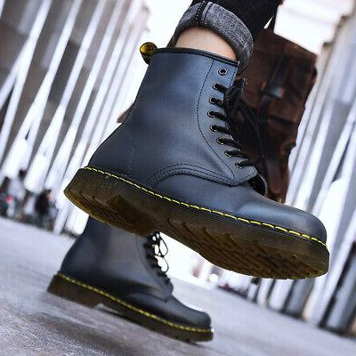 Women's Casual Boots 8-Eye Leather