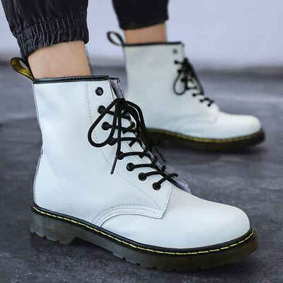 Women's Casual Boots 8-Eye Classic Leather Martens Ankle
