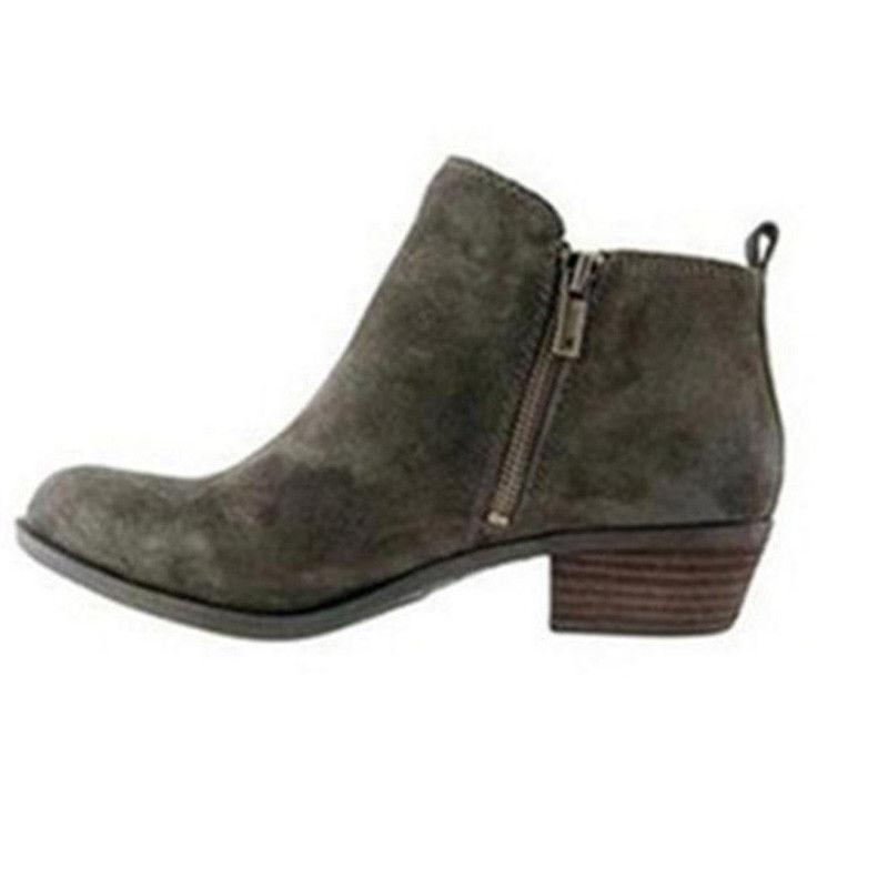 Vintage Women's Western Ankle Booties Shoes