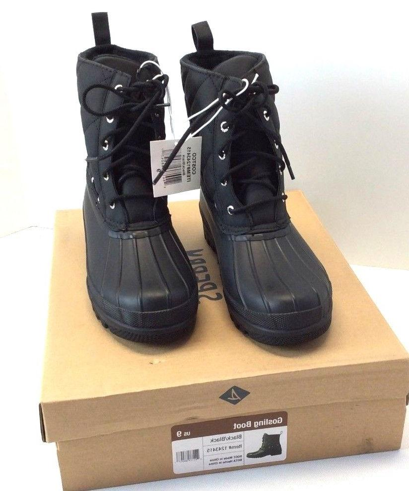 women s gosling boots black navy choose