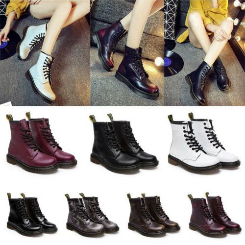 Women's Lace-Up Casual Round Toe Low
