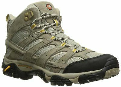 Merrell Women's Moab 2 Vent Mid Hiking Boot, Taupe, 10 W US
