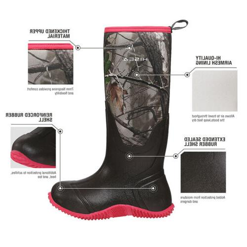 HISEA Boots Insulated Outdoor