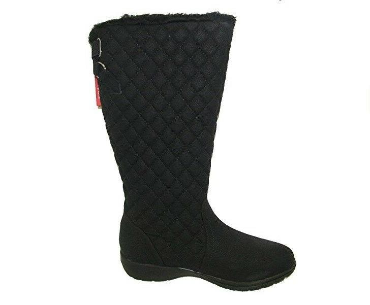 Women's Henry Snow Boots Brooks-200 Black - New!!