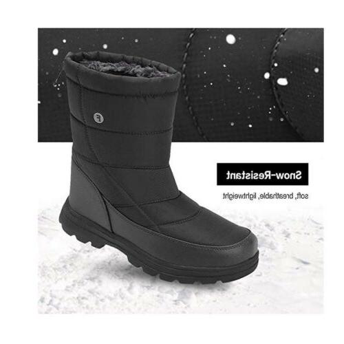 Women's Snow Boots Winter Work Shoes