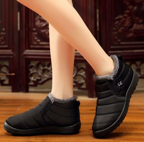 Winter Fur-lined On Warm Ankle Shoes US