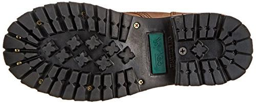 "Adtec Women's Work 9"" Logger, Brown, 8 M"