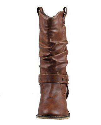 Refresh Women Style Cowboy Boots