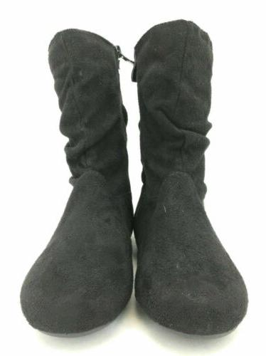 Forever Womens Boots Flat Black 5