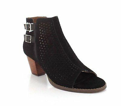 Vionic Womens Chryssa Ankle Boot 9.5 BM US, Black