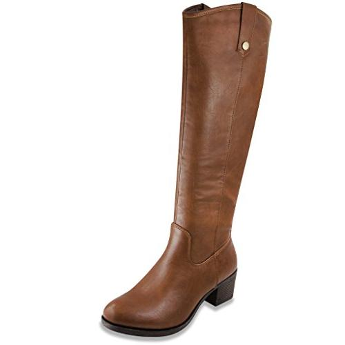womens italie riding boot 7 cognac tumbled