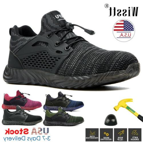 womens work boot steel toe safety shoes