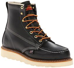 Leather Thorogood Work Boots Rubber Sole Slip Resisting Non