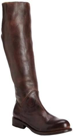 Bed Stu Women's Manchester Teak Rustic Knee-High Leather Boo