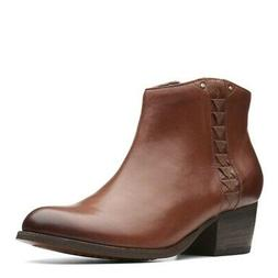 maypearl fawn boots leather womens ankle boots