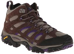 Merrell Women's Moab Ventilator Mid Hiking Boot,Bracken/Purp