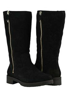 Vionic Orthaheel MYSTIC MICA Suede Lined Supportive Boots BL