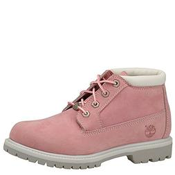 Timberland Women's Nellie Double WP Ankle Boot,Pink,9.5 W US