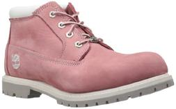 Timberland Women's Nellie Double WP Ankle Boot,Pink,9.5 M US