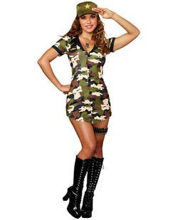 New Dreamgirl 10660 Boot Camp Costume
