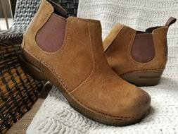 """New! DANSKO """"FRANKIE"""" Burnished Suede Leather Ankle Boot $15"""