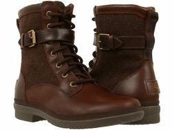 New! Ugg Kesey Waterproof Boot Brown Leather Size 9 1005264