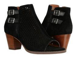 New Women`s Vionic Aloft Chryssa Open Toe Booties Perforated