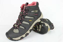New Keen Women's Koven Mid Waterproof Hiking Boots 9m Raven