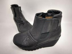 NEW! Skechers Women's Parallel Fastened Ankle Boots Black #4