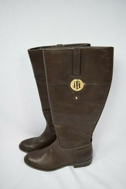 13f21912719 NEW TOmmy Hilfiger Women s Twivane Wide Calf Boots Size 9