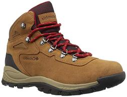 Columbia Women's Newton Ridge Plus-Wide Hiking Boot,Cordovan