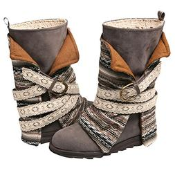 nikki belt wrapped boot