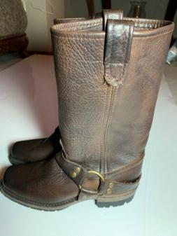 NW Vintage Shoes Company Gretchen Boots Brown Leather Women