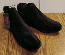 NWT LADIES BOBBIE  BROOKS Women's Faux Suade Ankle Boots Boo