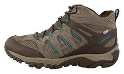 Merrell Women's Outmost Mid Vent Waterproof Hiking Boot, Bou