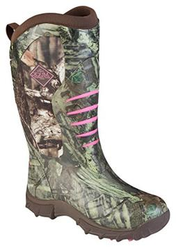 Muck Boot Womens Pursuit Stealth Hunting Shoes, Realtree/Pin