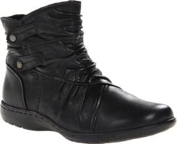 Rockport Cobb Hill Women's Pandora Boot, Black, 8.5 W US