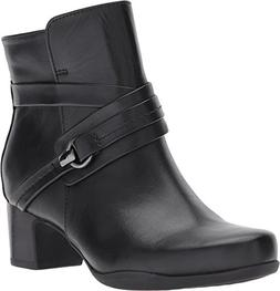 CLARKS - Womens Rosalyn Page Low Boot, Size: 9 2E US, Color: