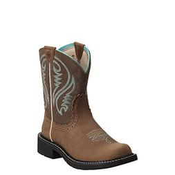 Ariat Western Boots Womens Fatbaby Heritage Tan Rowdy 100140