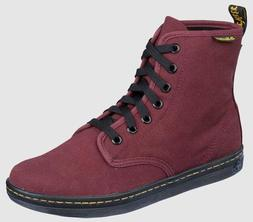 Dr. Martens Women's Shoreditch Boot,Cherry Red Rouge,4 UK