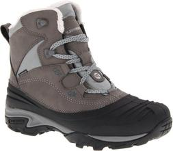 Merrell Women's Snowbound Mid Waterproof Winter Boot,Charcoa