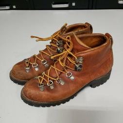Vintage Danner Women's Leather Hiking Boots Style 46490 Size