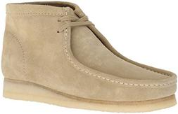 CLARKS Men's Wallabee Boot Fashion, Maple Suede, 85 M US