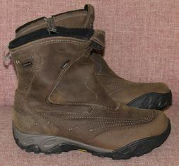 Merrell Waterproof Winter Boots  - Brown Leather - Brand New