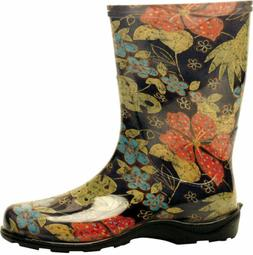 Sloggers Women's  Waterproof Rain and Garden Boot with Comfo