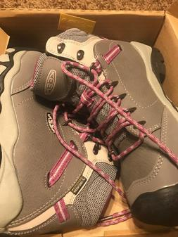 Women's KEEN 1016966 CSA CANBY WP  Lace Up Hiking Boots 6.5M